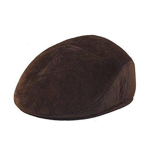 Chapeau-tendance - Casquette Homme Velours Marron Cache-Oreilles - 56 - Homme