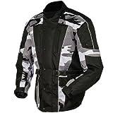 Tarnung Motorradjacke textilien Motorrad Jacke Cordura Motorcycle Jacket