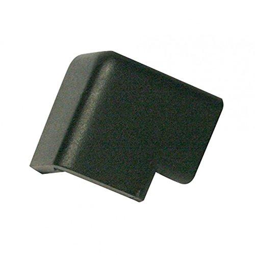 Schutzecke Kantenschutz Stoßschutz Eckenschutz Typ H 2D 3D schwarz PU, Größe:2D - schwarz
