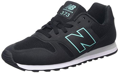 New Balance Herren Md_wd373v1 Sneakers Schwarz (Black/Green)
