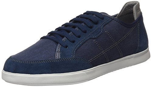 Geox U Walee A, Sneakers Basses Homme Bleu (Blue)