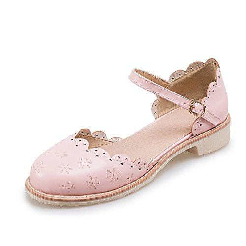 Chaussures talons bas/Une boucle sandales/Sweet Princess shoes/Chaussures de l'étudiant C