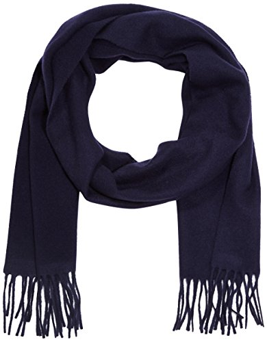 GANT SOLID LAMBSWOOL WOVEN SCARF - Écharpe - Homme - Bleu (navy 405) - One size (Taille fabricant: ONE SIZE)