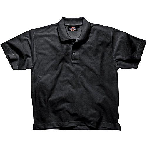 Dickies Polo Negro TL 65% Poli. 35% algodón