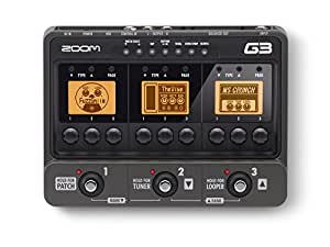 zoom g3 guitar effects pedal musical instruments. Black Bedroom Furniture Sets. Home Design Ideas