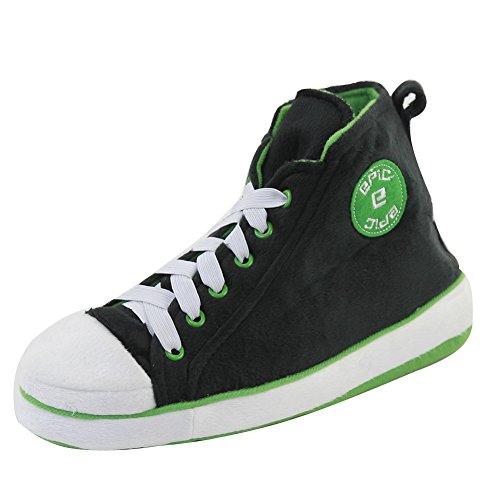 Gohom - Stivali Chelsea uomo Black&Green