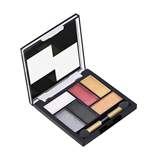 Dtuta 6 Farben Betrunkene Zeit Beauty Eye Shadows Palette Deluxe Make-Up Organizer Lidschatten...