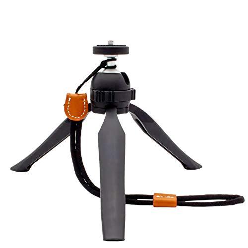 Highfoc - Tischstativ mit Kugelkopf für GoPro, Speigelreflex, DSLR und Camcorder, handliches Outdoor- Reisestativ, Flexibler Tripod für Nicon, Sony, Canon, Panasonic UVM.