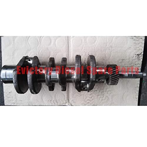Für YANMAR Marine Motor 3D72 3T72 Kurbelwelle geschmiedeter Stahl -