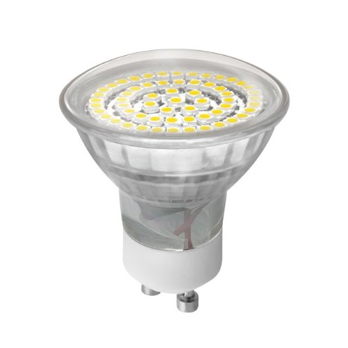 87619d395b96 1 Stück Kanlux Led SMD Leuchtmittel Halogenersatz GU 10 60 Leds warmes  wohnliches Licht New Generation