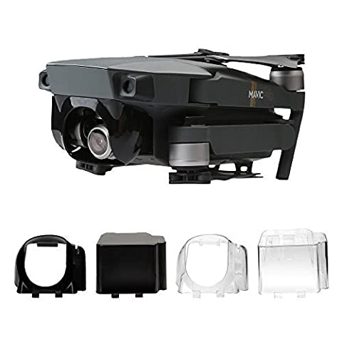 RCstyle Flying & Transport Gimbal Camera Cover Set pour DJI Mavic Pro,Black