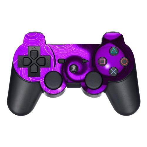 Disagu Design Skin für Sony PS3 Controller - Motiv Lila Wave (Skin-lila Ps3 Controller)