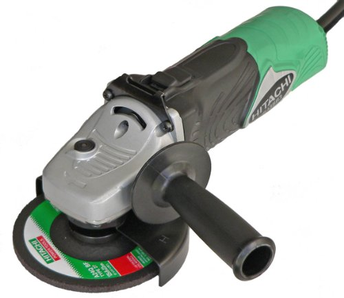 Hitachi 93121410 Mini-Amoladora, 1300 W, Negro, Verde, 125mm