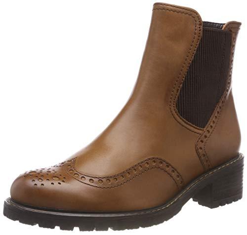 Gabor Shoes Damen Comfort Basic Chelsea Boots, Braun (Whisky (Mel.) 52), 43 EU