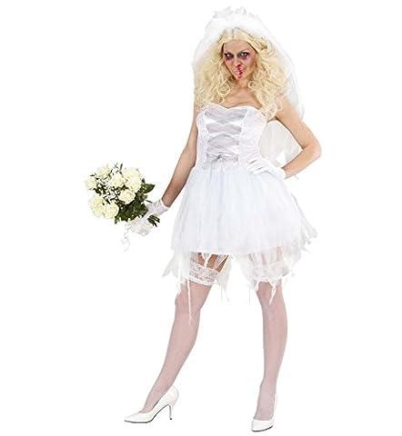 Widmann 87242 - Kostüm Zombie Braut, Gröߟe M