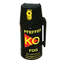 Pfefferspray KO-FOG 40ML Test