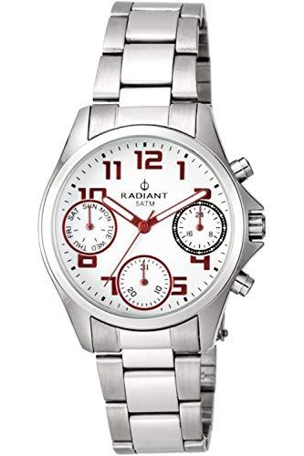 Radiant mayfair orologio Donna Analogico Al quarzo con cinturino in Acciaio INOX RA385705A