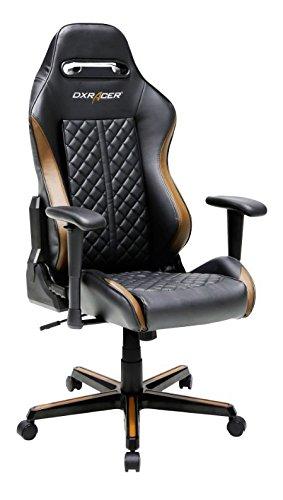 DXRacer  – Silla Gaming dh73 Negro y marrón