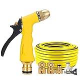 YCGDZ Haushalt Hochdruck Wasserpistole Düse Schlauchanschluss Set Garten Bewässerung Reinigung Auto Waschen (größe : 15m)