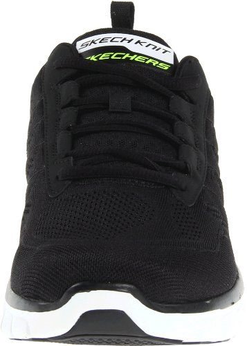 Skechers Synergy Interrupteur D'alimentation, Sneakers Uomo Nero (bkw)
