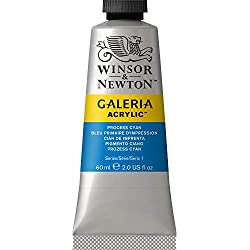 Winsor & Newton Galeria-Acrílico, Process Cyan, 60ml - Acrylfarbe