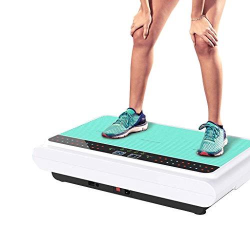 HFYAK Vibrationsplatte - Fitnessgerät Fitness Vibrationsgerät - Bluetooth-Lautsprecher Unisex Whole Body Shaking Für Weight Loss & Body Toning
