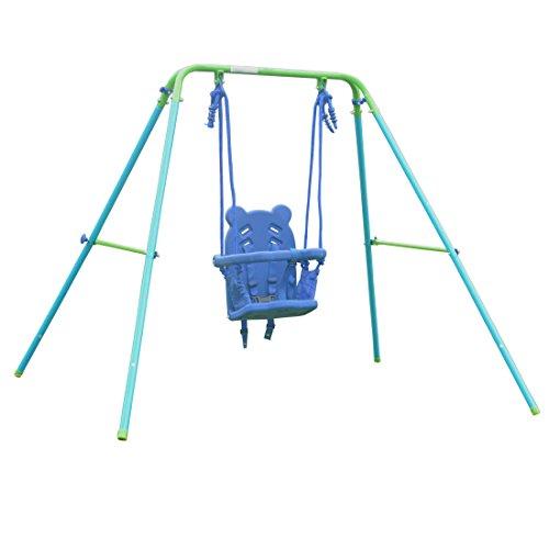 Folding Toddler Swing Baby Swing & Infant Portable Garden Swing ...