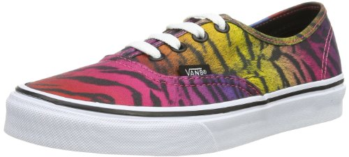 Vans U Authentic, Baskets mode mixte adulte Violet (Black)