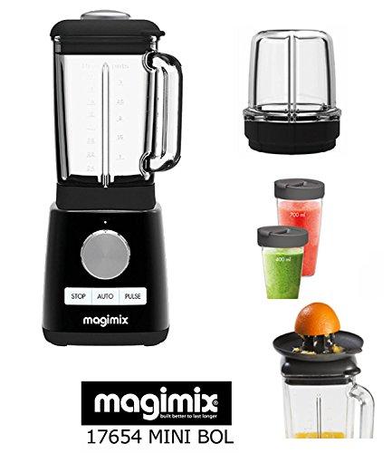 Magimix Batidora Power Blender nuevo negro 1300 w 6000 a 22000 rpm + 3 ACCESORIOS OPCIONALES : MINI...