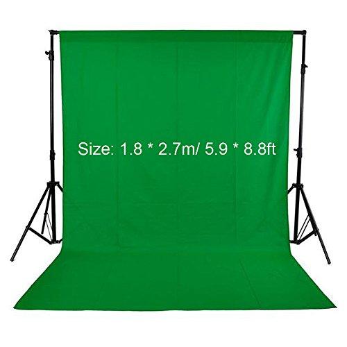 Andoer Croma Verde,1.8 x 2.7m Telón Fondo Fotografía