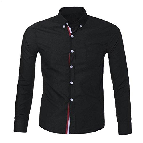 amlaiworld-mens-luxury-long-sleeve-casual-slim-shirt-l-black