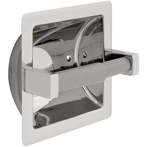 Franklin latón 5567B siglo, Hardware de baño accesorio, empotrado papel portadosis