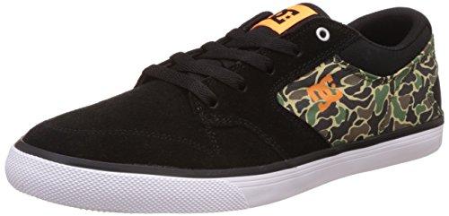 DC Universe Herren Argosy Vulc Sneakers Schwarz (Black/Camo - Bcm)