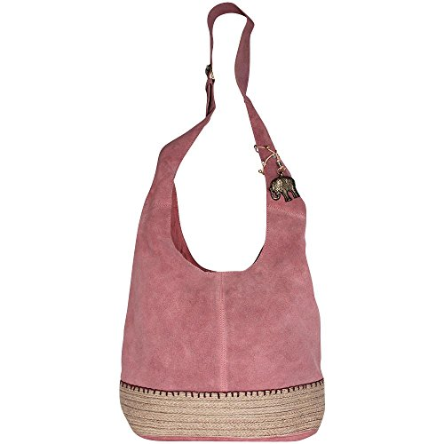 Anokhi, Borsa a spalla donna Flamingo, Rose