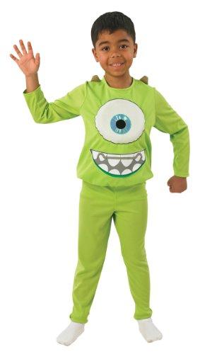 Für Erwachsene Wazowski Mike Kostüm - Rubie's 3880075 - Mike Deluxe Kostüm, Größe: S