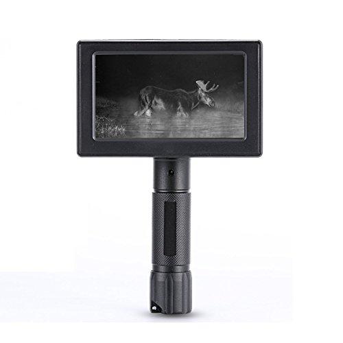 WILDGAMEPLUS 5 zoll LCD display 490ft Reichweite Infrarot IR Nachtsicht Spotter 16mm Objektiv Wald Sicherheit Überwachung Wasserdichte Videokameras für Jagd WG3012