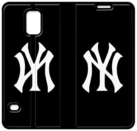 Coque Samsung Galaxy S5 Case Cuir [BEAU CADEAU BON PRESENT] [Newyork Yankees Nyy Logo Download J6X4B ] Cas De Téléphone De Protection Pour Samsung Galaxy S5