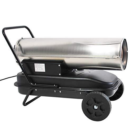 30 KW Edelstahl Automatik Diesel Heizkanone - 2