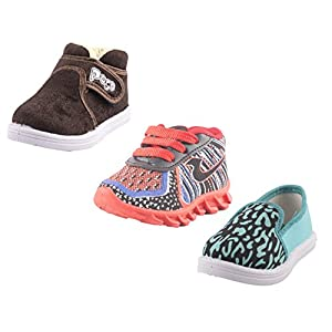 Hot-X Baby Boys & Girls Kids Shoes Combo 11