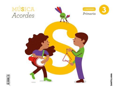CUADERNO MUSICA  ACORDES 3 PRIMARIA