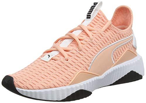 Puma Defy Wn's Scarpe da fitness Donna, Grigio (Silver Gray-Puma White), 40 EU (6.5 UK)