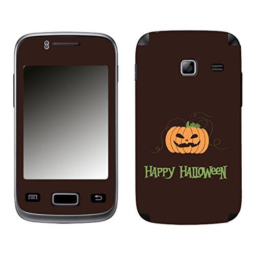 Disagu SF-104077_1219 Design Schutzfolie für Samsung S6102 Galaxy Y Duos - Motiv Halloween Pumpkin 01