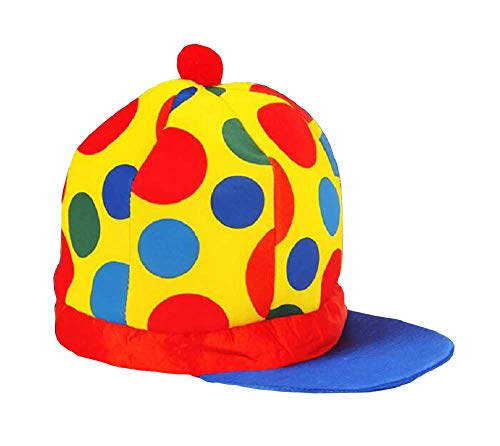 Inception Pro Infinite Modello 5 - Cappello - Clown - Pagliaccio - Saltinbanco - Costume - Travestimento - Carnevale - Halloween - Cosplay - Accessori - Uomo - Donna - Bambini