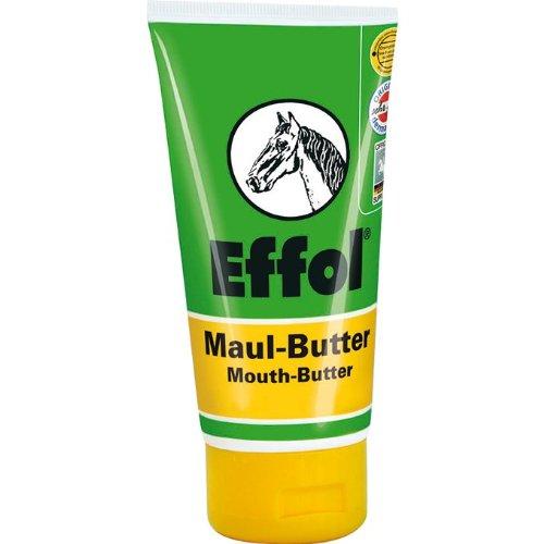 Effol Maul-Butter® Banane für ein butterweiches Pferdemaul sorgt für mehr Zufriedenheit beim Pferd und erhöht somit die Reitqualität 150 ml