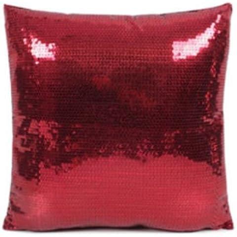 Paillettes scintillanti per cuscino decorativo, Cuscino, federa per cuscino, casa, ufficio, auto, coperta per letto o divano, federa (18
