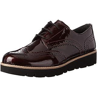 Gabor Shoes Damen Comfort Sport Derbys, Rot (Merlot SS/C), 38.5 EU