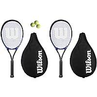 2 racchette bambini Wilson Grand Slam XL racchette da Tennis da + 3 palline da Tennis RRP £ - Slam Racchette