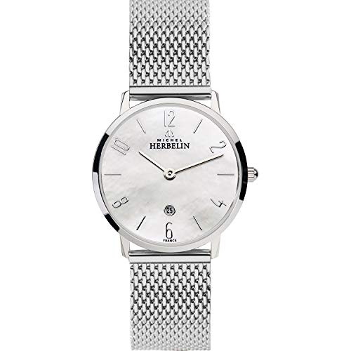 Michel Herbelin Ladies Steel Watch Milanais 16915/29B