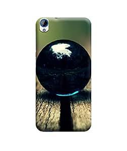 Ebby Premium Printed 3D Designer Back Case Cover For HTC 820 (Premium Designer Cae)