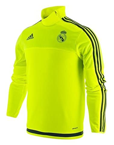 ADIDAS Sweat manche longue Du Real Madrid Maillot D 'Entrainement Football Officiel de l'Equipe du REAL MADRID (M)